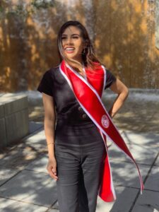 Jasmin Valdivia Graduation picture